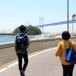 『せとうち暮らし』vol.13の取材で与島を訪れました。
