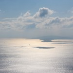瀬戸内海のキラキラ