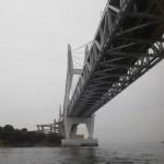 本州から香川の本島へ渡る